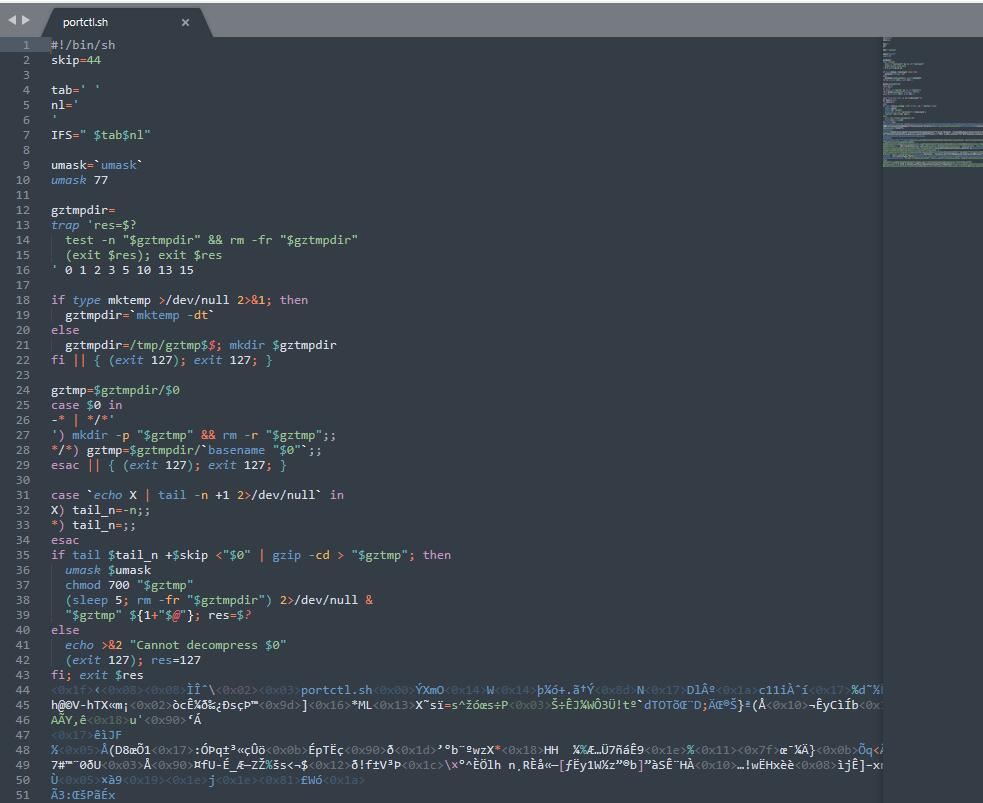 《Linux使用gzexe加密shell脚本(附带解密方法)》